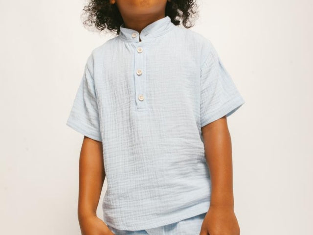 Lightweight Popover Shirt by Duxton Kids
