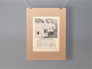 1967 VW Beetle 1500 Original Advert