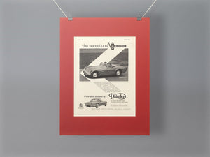 1960 Daimler SP250 Original Advert