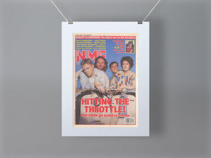 New Order NME Front Cover Mounted Print