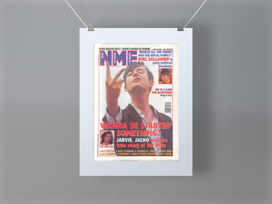 Jarvis Cocker NME Front Cover Mounted Print