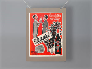 1950's Daure 23 Original French Advert