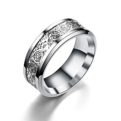 CARBON STAINLESS STEEL LUMINOUS RING