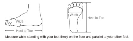 Feet Size Guide
