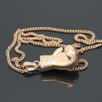 Heavyweight Champion Boxing Glove Pendant Necklace [3 colors] - Necklaces - Ring to Perfection