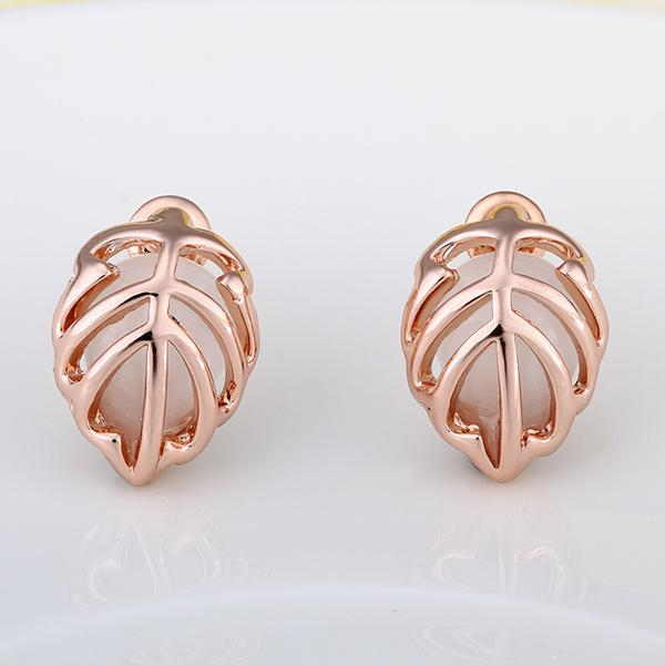 Valentina Stud Earring in 18K Rose Gold Plated