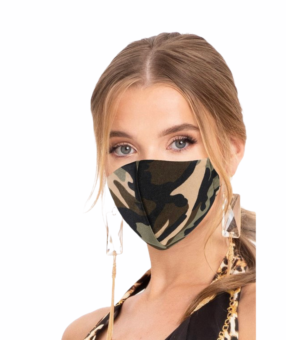 Camo Filter Face Mask - Ring to Perfection