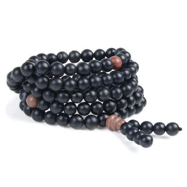 Bian Stone Healing Mala Beads - Ring to Perfection