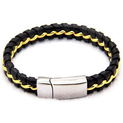 Dark Knight Leather Bracelet [2 Variants] - Bracelets - Ring to Perfection