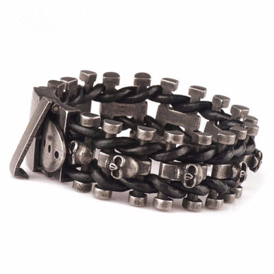 Skeleton Chain Buckle Bracelet - Ring to Perfection