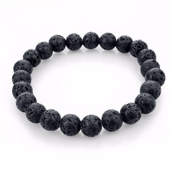 Tibetan Natural Stone Unisex Bracelets [19 Colors] - Ring to Perfection