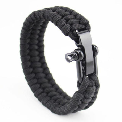 Triple Braided Stainless Steel Paracord Bracelets [5 Variants] - Ring to Perfection