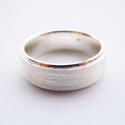 Handmade Sterling Silver Ring [7.5mm] - Ring to Perfection