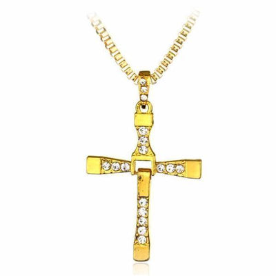 Dominic Toretto Cross Necklace [2 Variants] - Necklaces - Ring to Perfection