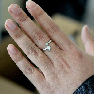 Charming Semi-Colon Depression Awareness Ring - Ring to Perfection