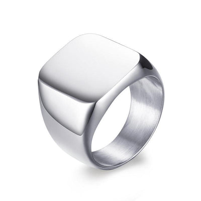 Men's Signet Pinky Ring [2 Variants] - Rings - Ring to Perfection