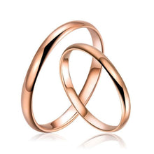 Load image into Gallery viewer, Rings 18K Rose Gold & White Gold Band Ring