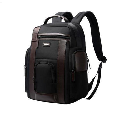 Sporty Large Pockets Adjustable Travel Laptop Backpack - Ring to Perfection