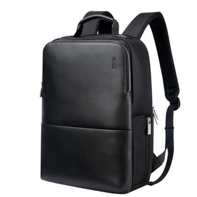 Bags Contemporary Waterproof Leather Laptop Backpack
