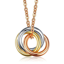 Load image into Gallery viewer, Necklaces 18K Rose Gold Pendant Necklace