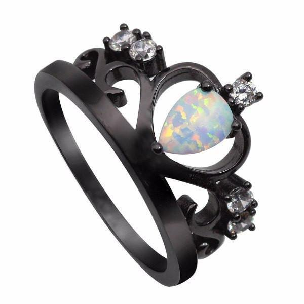 Rings - Stunning Fire Crown Opal Ring [3 Variants]