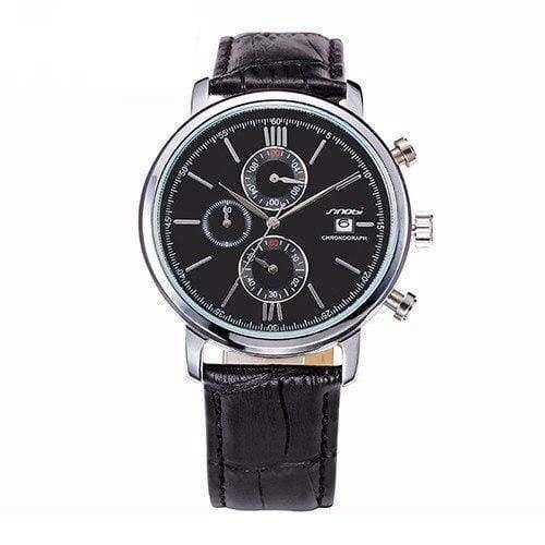 Watches Classic Leather Marine Watches
