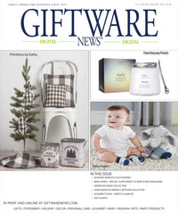 Giftware News January 2018 Edition Features Narrative Decor