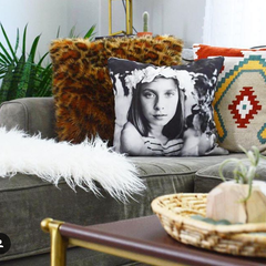 Narrative Decor Custom Photo Pillow Featured by Eclectic Leigh