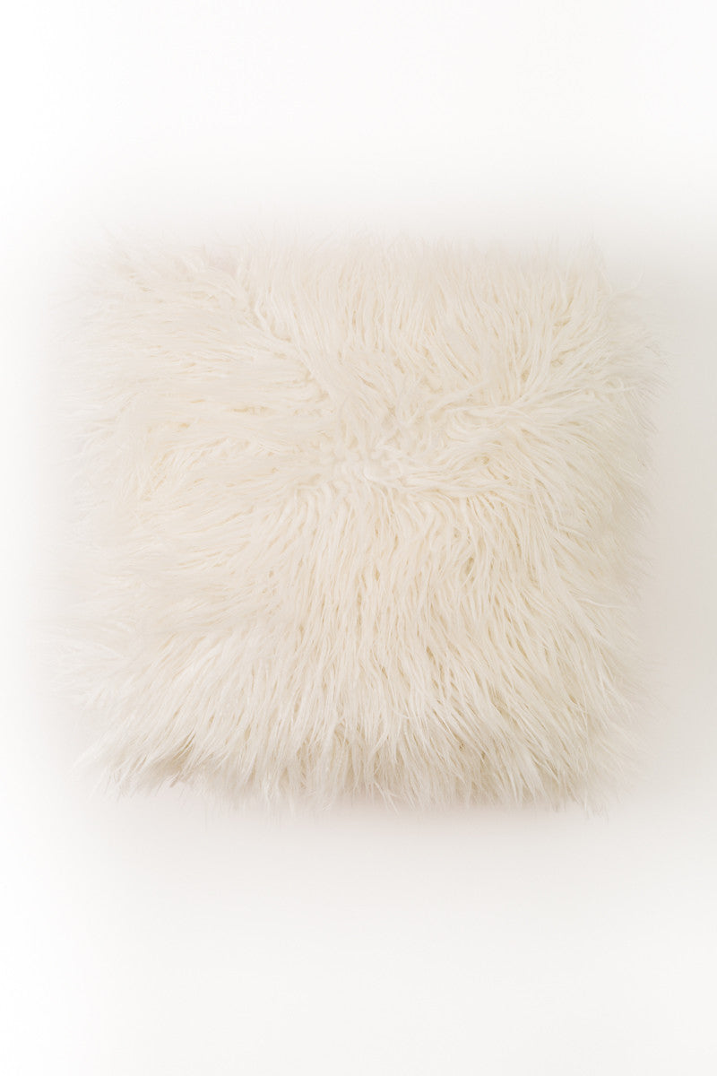 Custom Faux Fur Pillow - Narrative Decor - 4