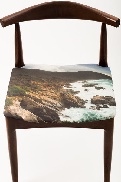 Custom Mid-Century Style Chair - Narrative Decor - 2