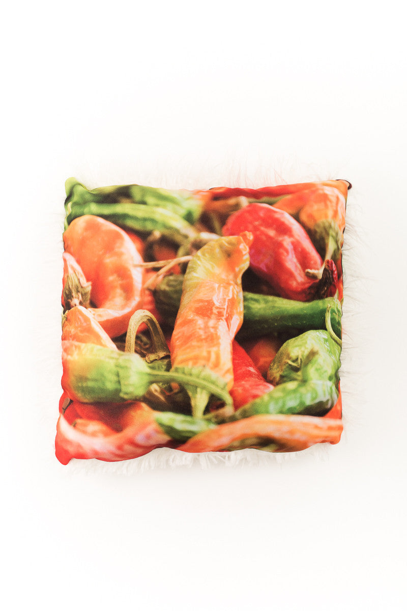 Hot Peppers Pillow - Narrative Decor - 2