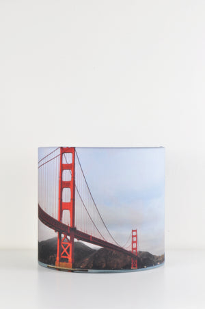 Golden Gate Lampshade