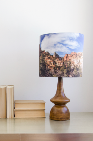 Mod Mountains Lamp - Narrative Decor