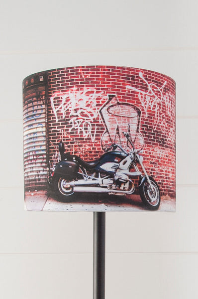 Street Art Drum Shade - Narrative Decor - 2