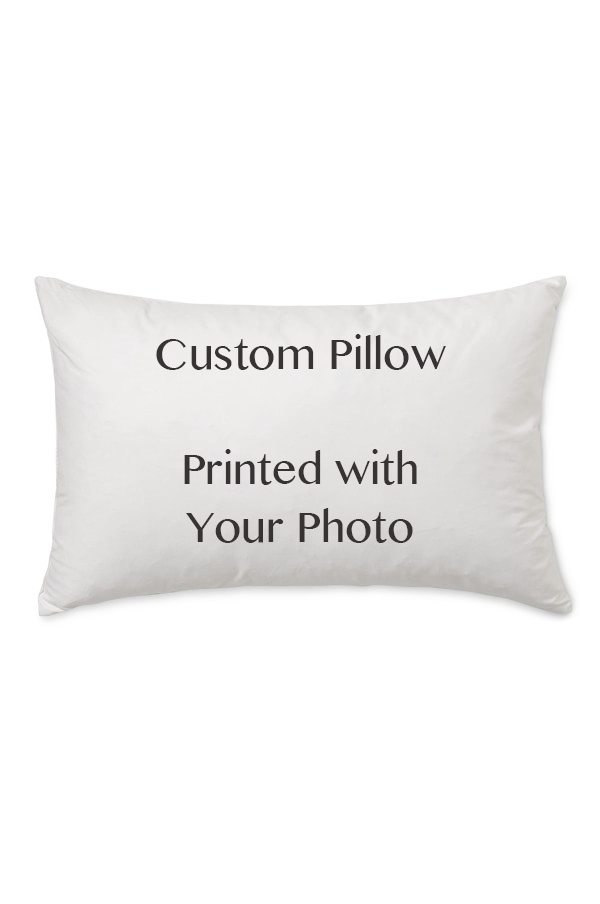 Custom Lumbar Faux Fur Pillow