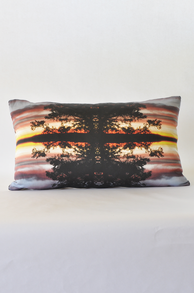 Sunset Forest Pillow - Narrative Decor - 1