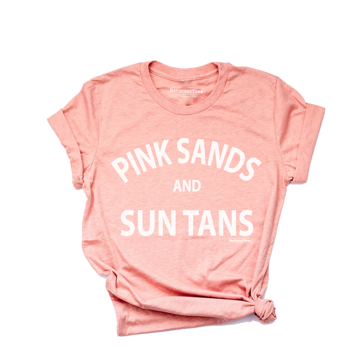 PINK SANDS and SUN TANS
