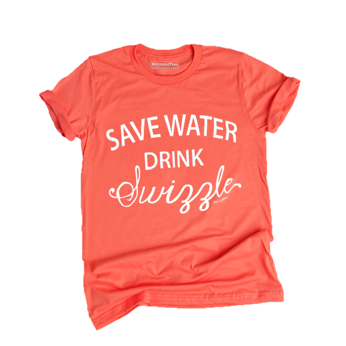 SAVE WATER drink SWIZZLE