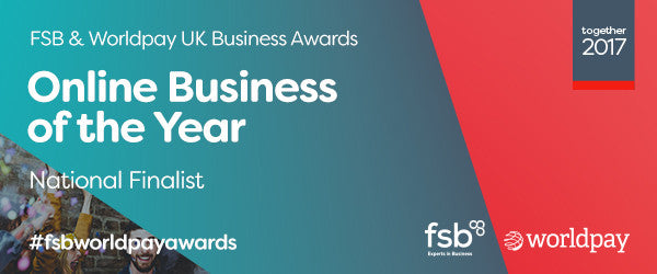 The Literary Gift Company is a finalist in the FSB Worldpay Online Business of the Year Award