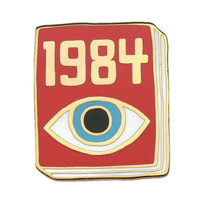 Nineteen Eighty Four Enamel Pin