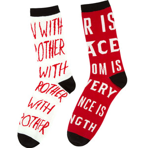 Nineteen Eighty-Four Socks