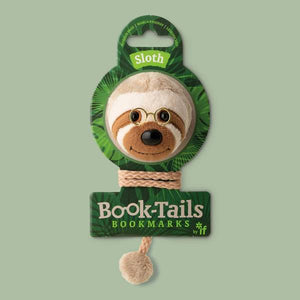 Book-Tails Bookmark - Sloth