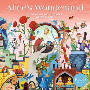 Alice's Wonderland: A Curiouser and Curiouser Jigsaw Puzzle