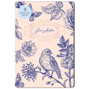 Jane Austen Sticky Note Tin Set