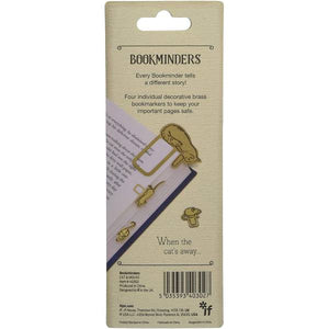 Bookminders Page Markers - Cat & Mouse