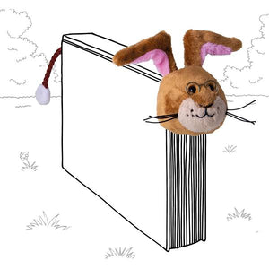 Book-Tails Bookmark - Rabbit
