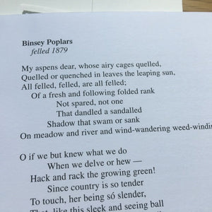 Poetry Instead of a Card - Ten Poems About Trees