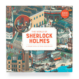 The World Of Sherlock Holmes 1000-piece Jigsaw Puzzle