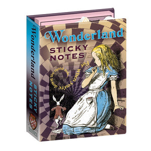 Wonderland Sticky Notes