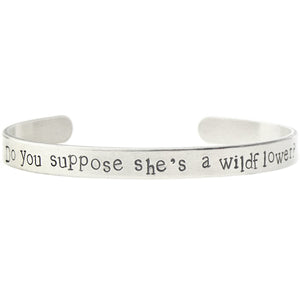 Do You Suppose She's A Wildflower Bangle